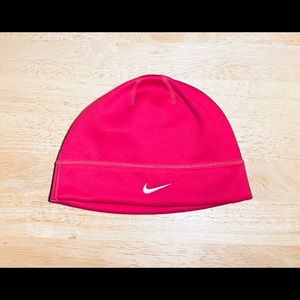 NWT Nike: One Size Pink Workout Beanie